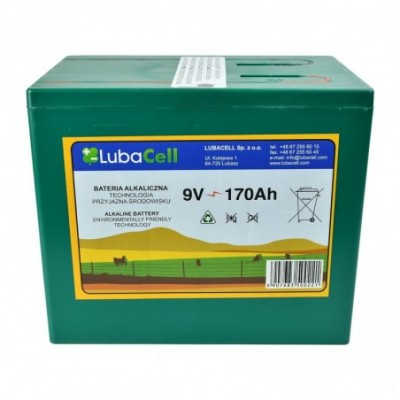 Bateria alkaliczna 9V 175Ah
