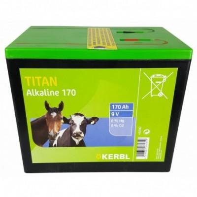 Bateria alkaliczna TITAN 9V...